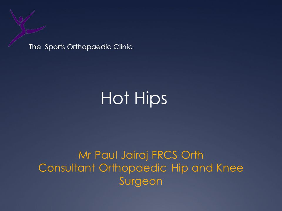 Mr Paul Jairaj FRCS Orth Consultant Orthopaedic Hip and Knee Surgeon