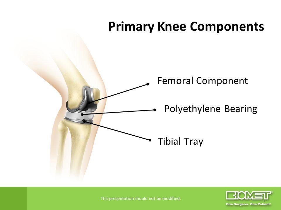 Primary Knee Components