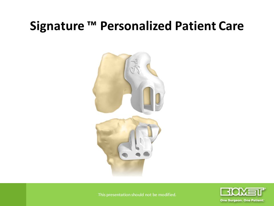 Signature ™ Personalized Patient Care