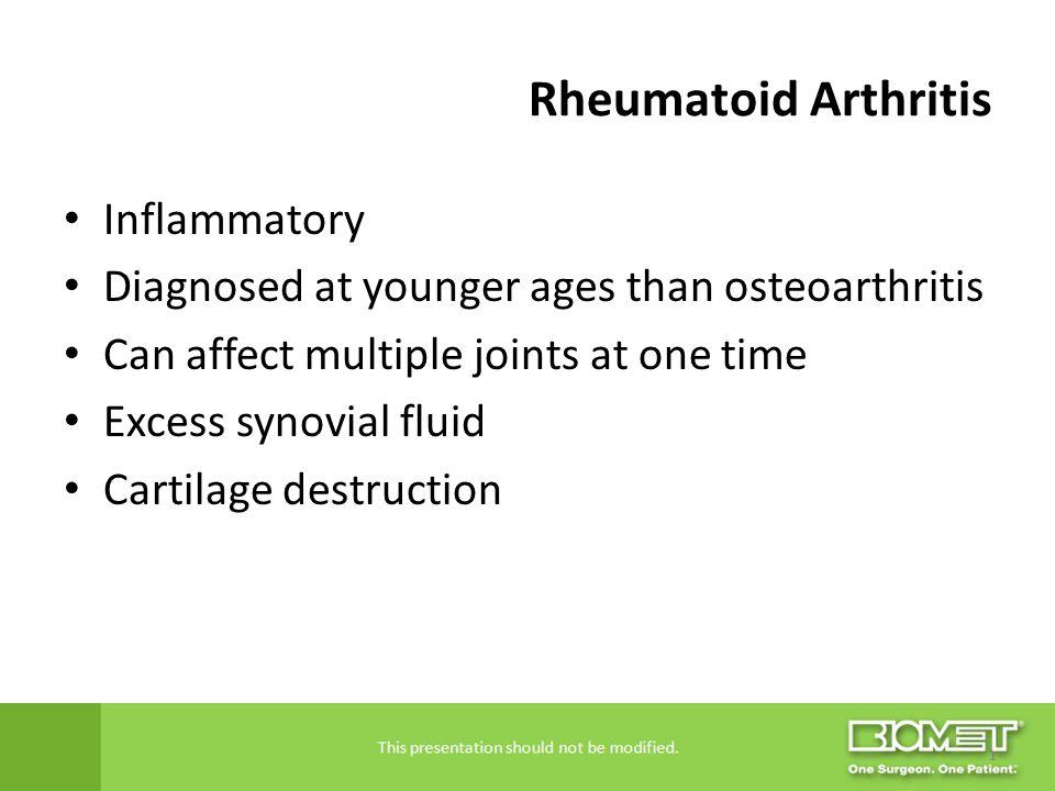Rheumatoid Arthritis Inflammatory