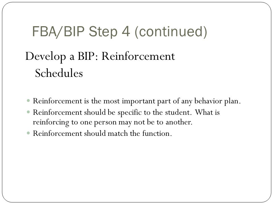 FBA/BIP Step 4 (continued)