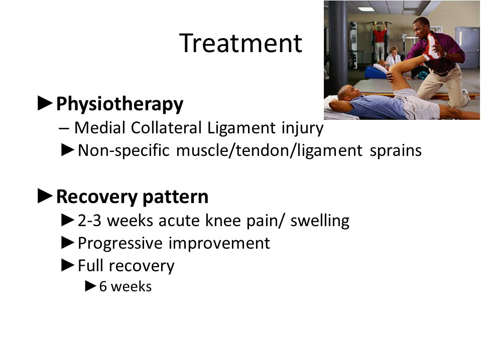 Treatment Physiotherapy Recovery pattern