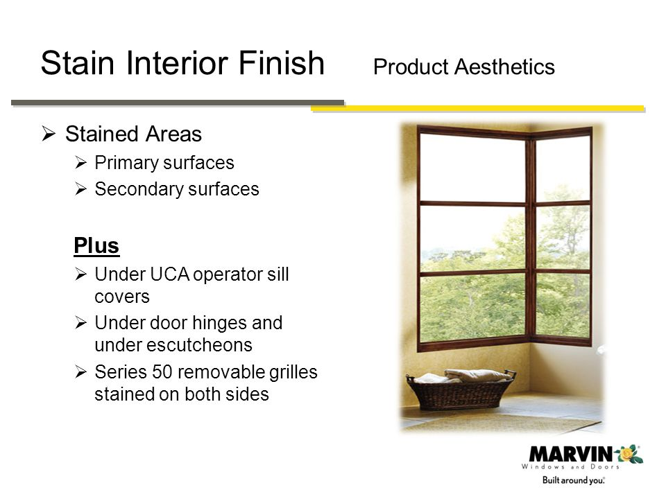 Stain Interior Finish Product Aesthetics