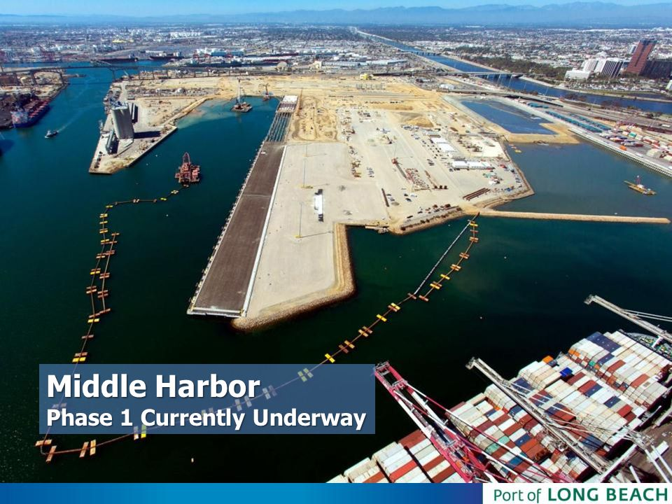 Middle Harbor Phase 1 Currently Underway