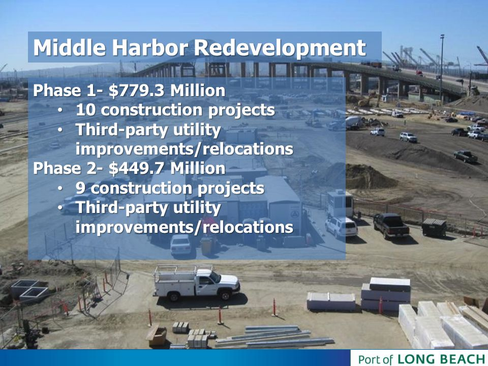 Middle Harbor Redevelopment
