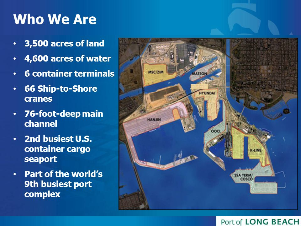 Who We Are 3,500 acres of land 4,600 acres of water