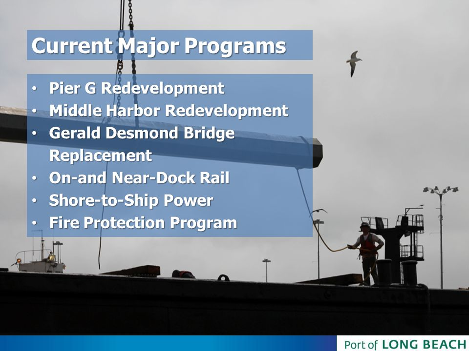 Current Major Programs