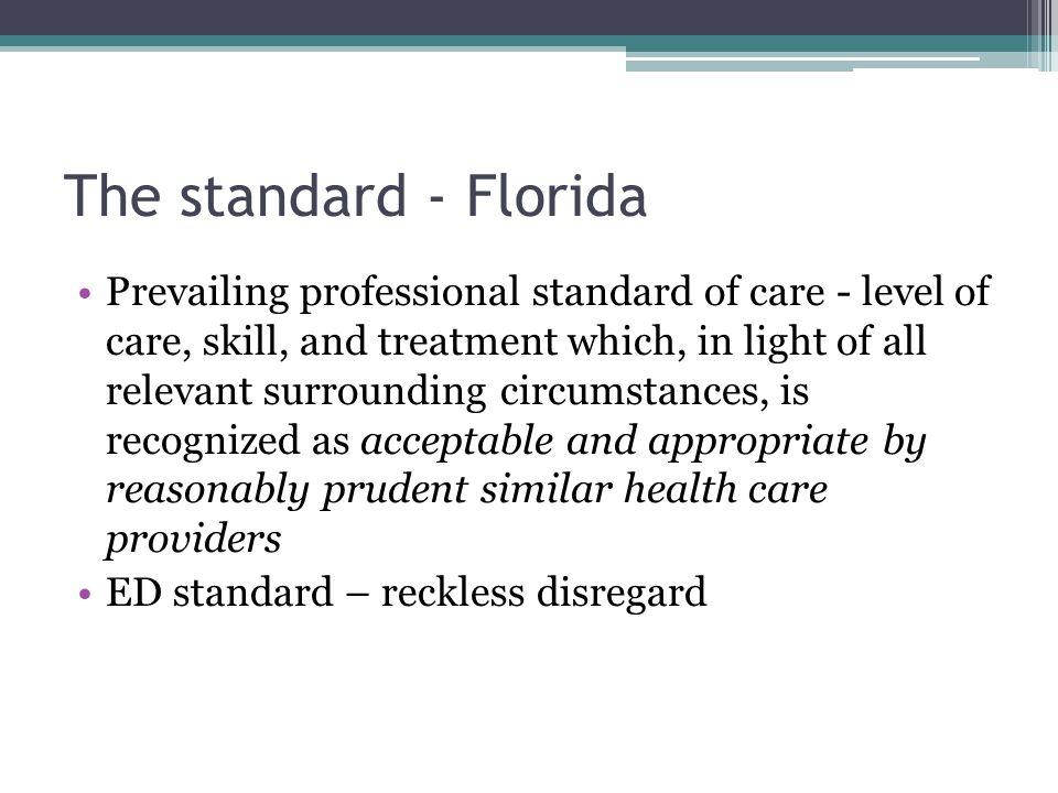 The standard - Florida