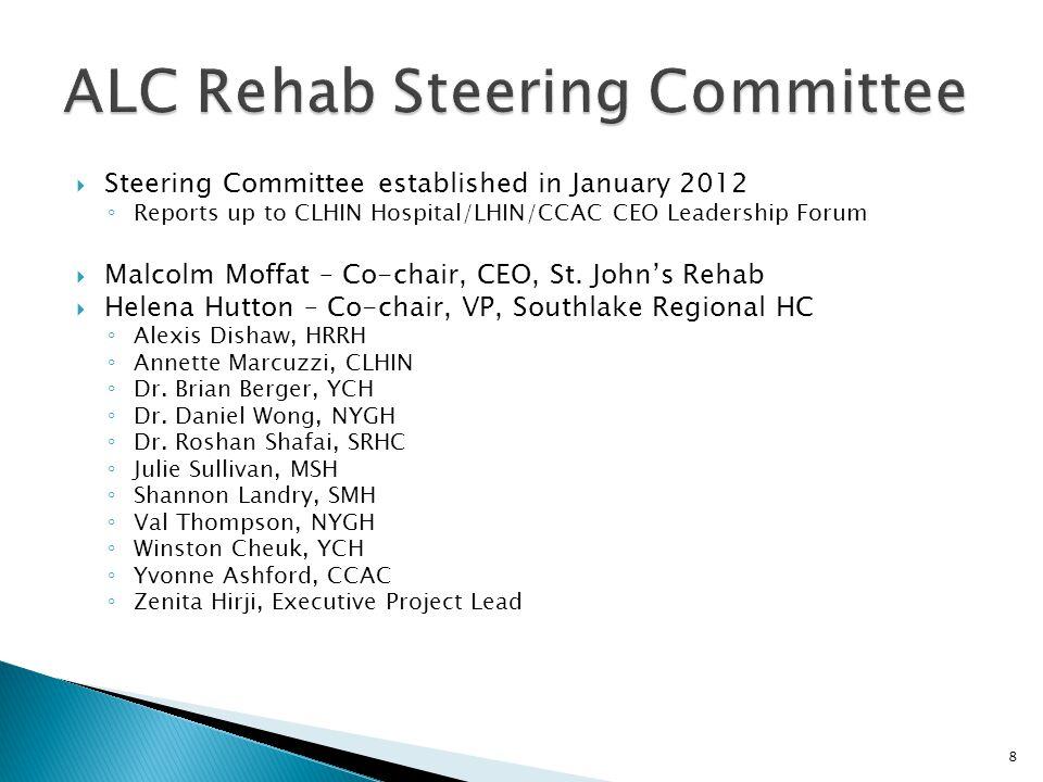 ALC Rehab Steering Committee