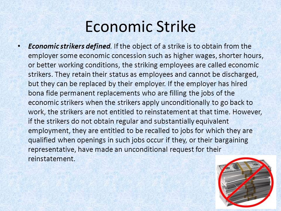 Economic Strike