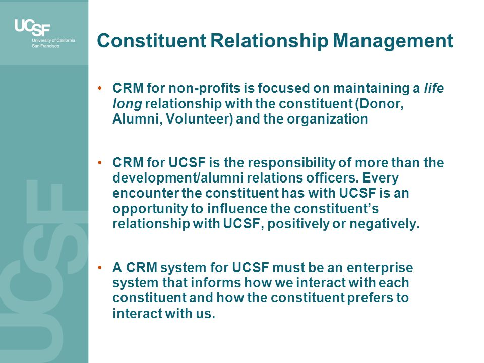 Constituent Relationship Management