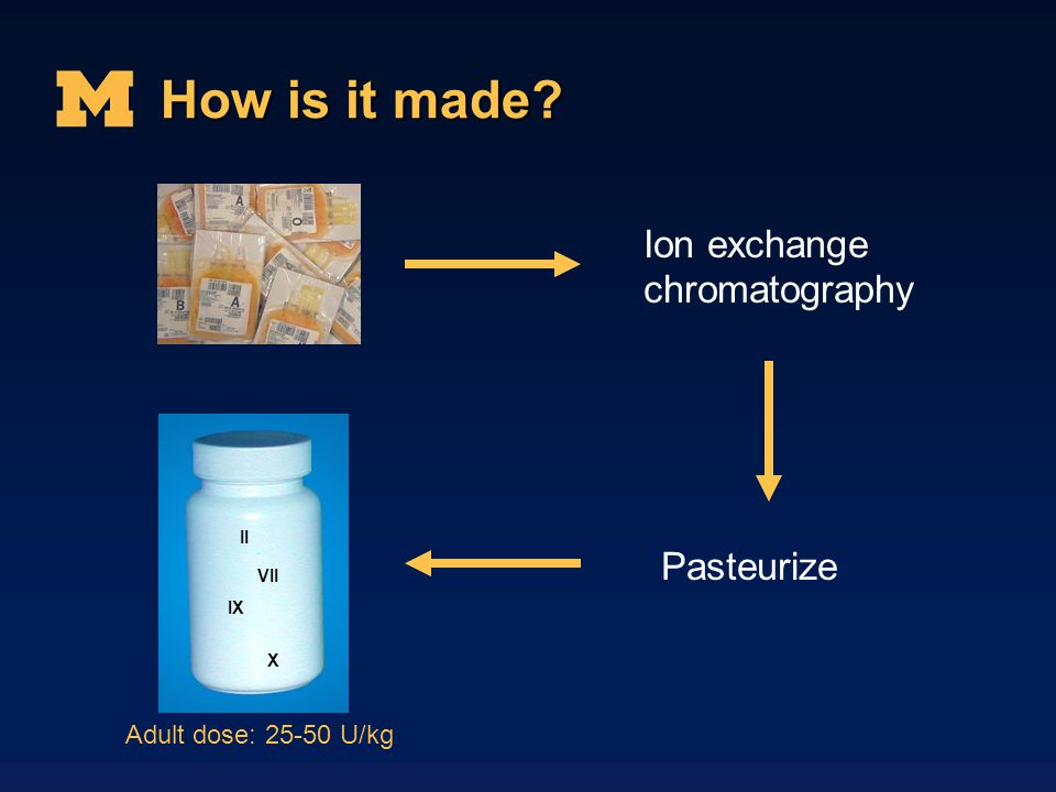 How is it made II Ion exchange chromatography Pasteurize