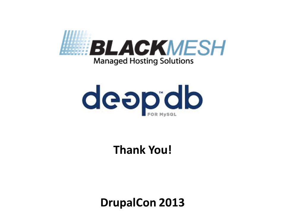 Thank You! DrupalCon 2013