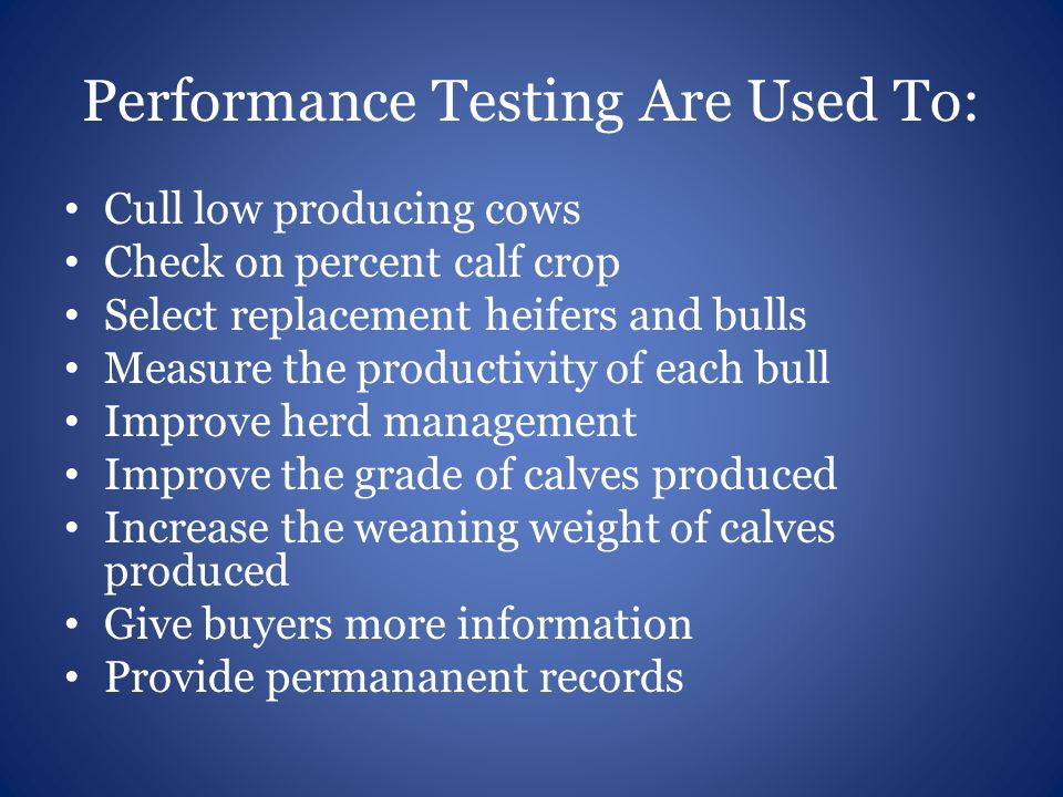 Performance Testing Are Used To: