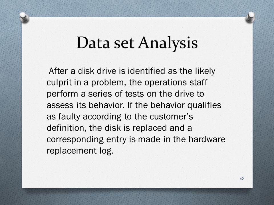 Data set Analysis