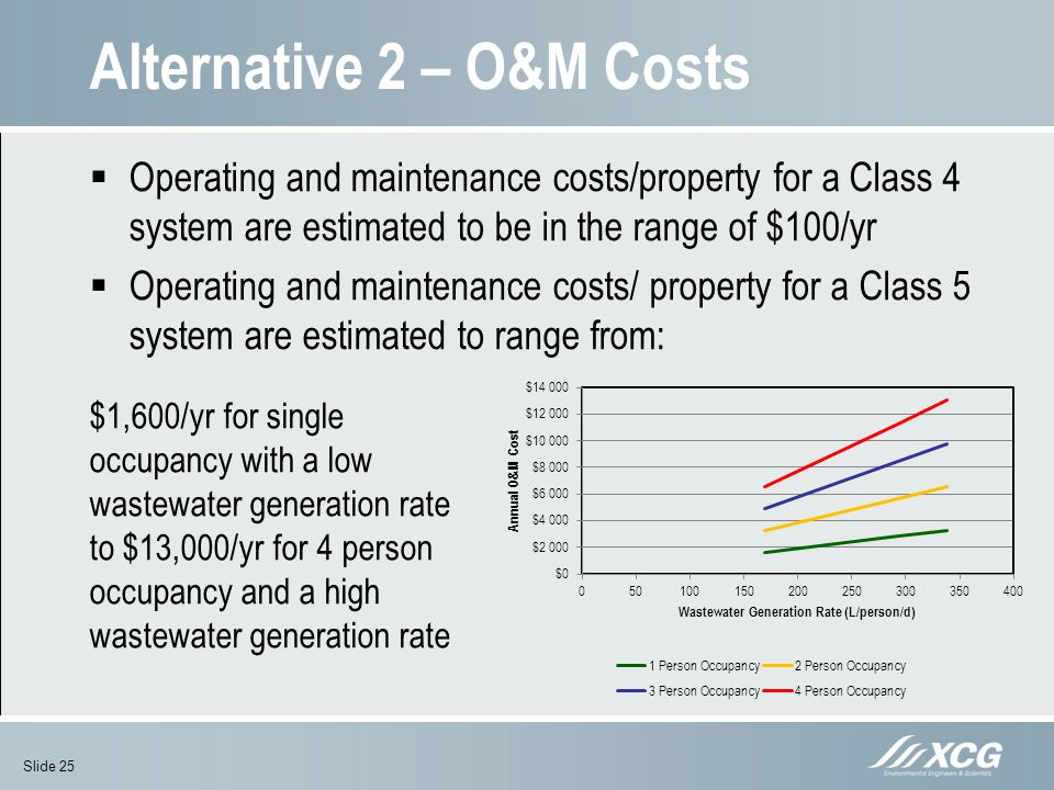 Alternative 2 – O&M Costs
