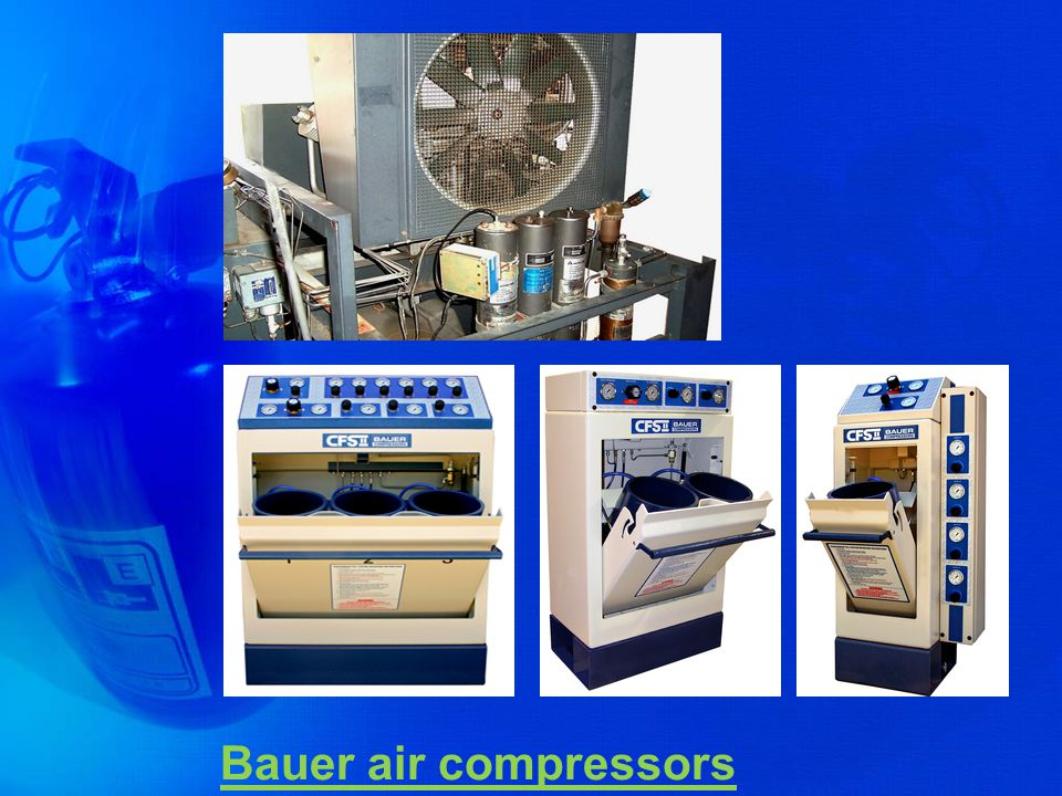 Bauer air compressors