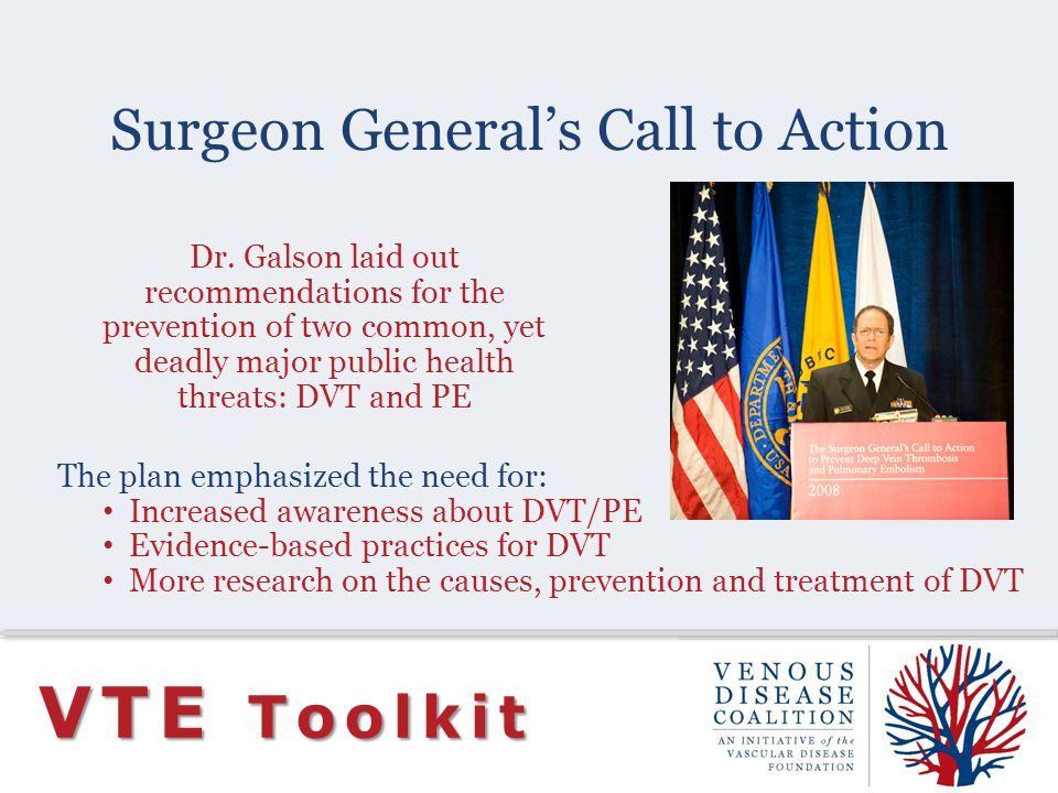 Surgeon General's Call to Action