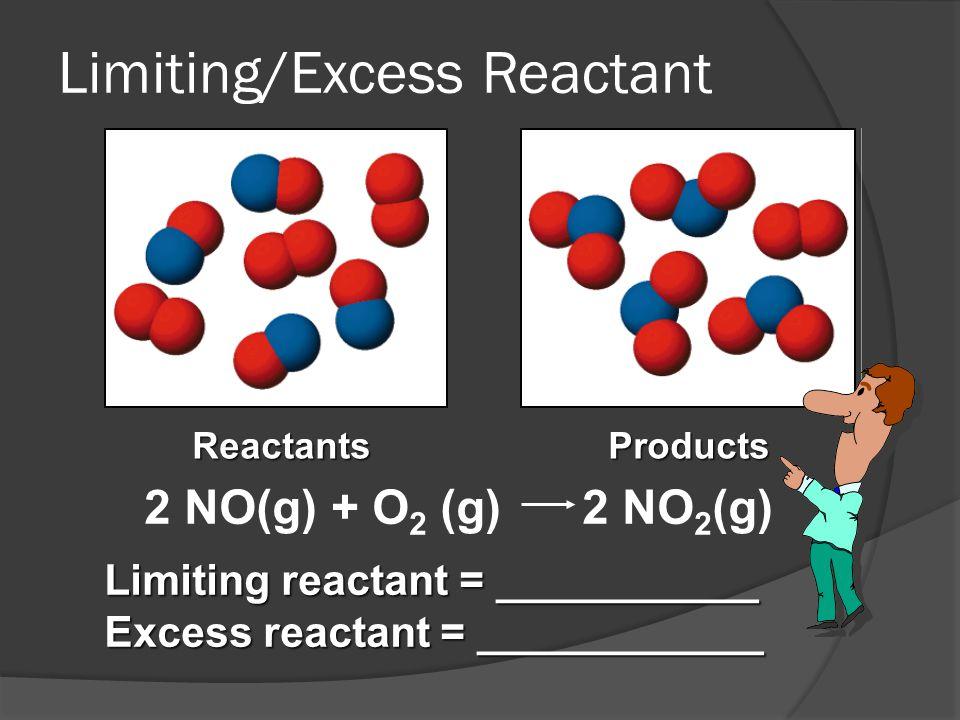 Limiting/Excess Reactant