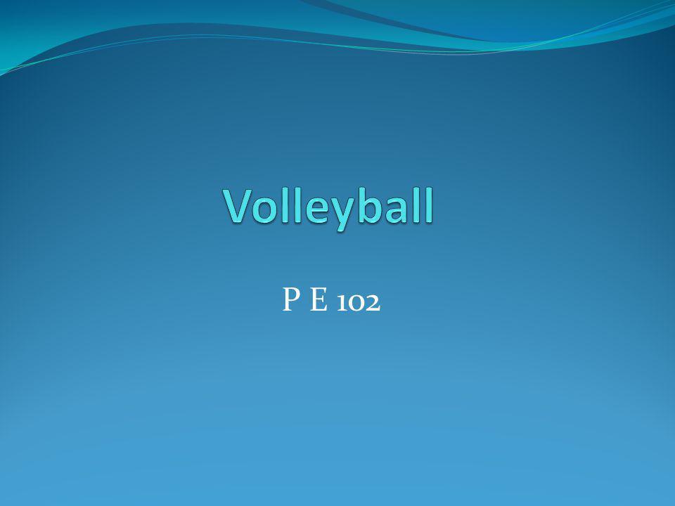 Volleyball P E 102