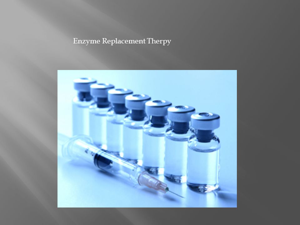 Enzyme Replacement Therpy