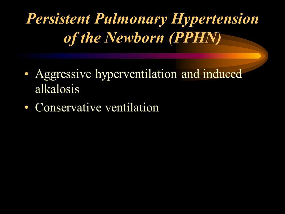 Persistent Pulmonary Hypertension of the Newborn (PPHN)