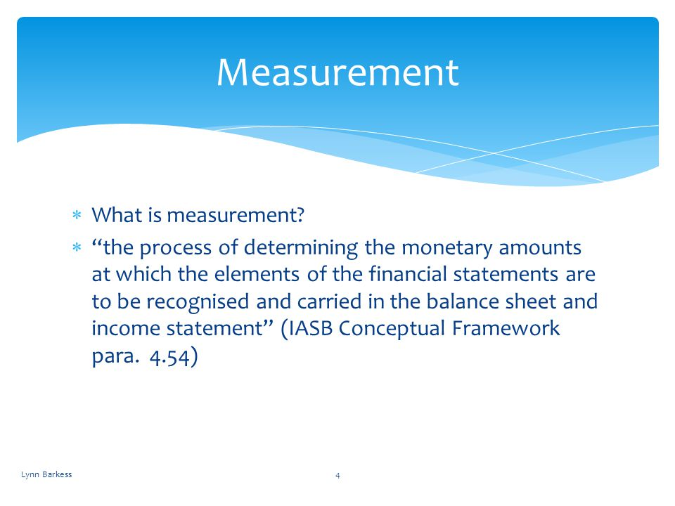 Measurement What is measurement