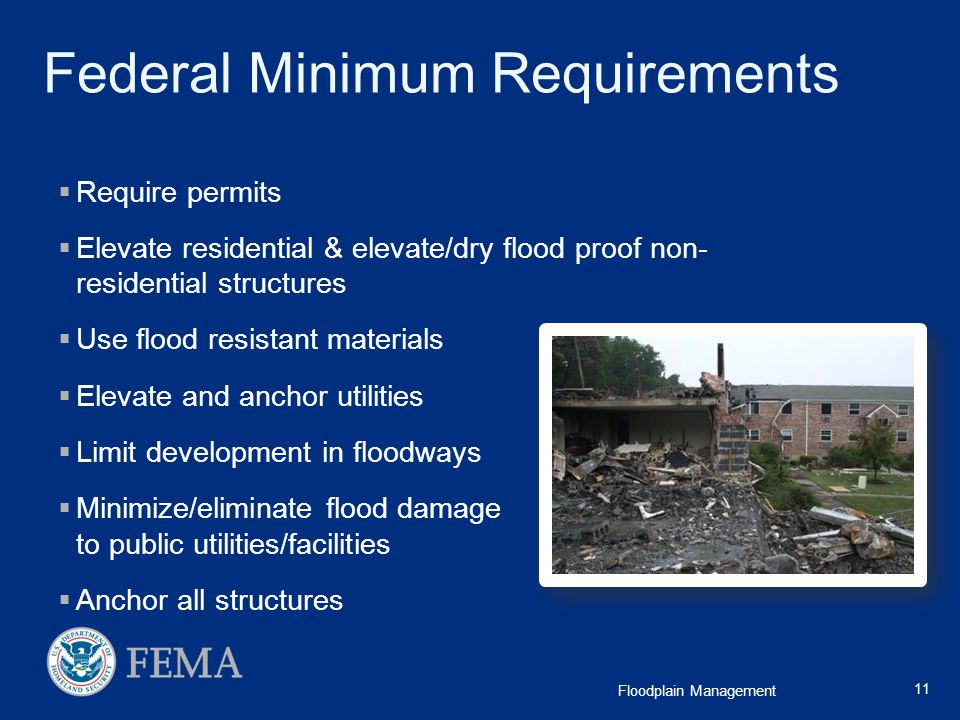Federal Minimum Requirements