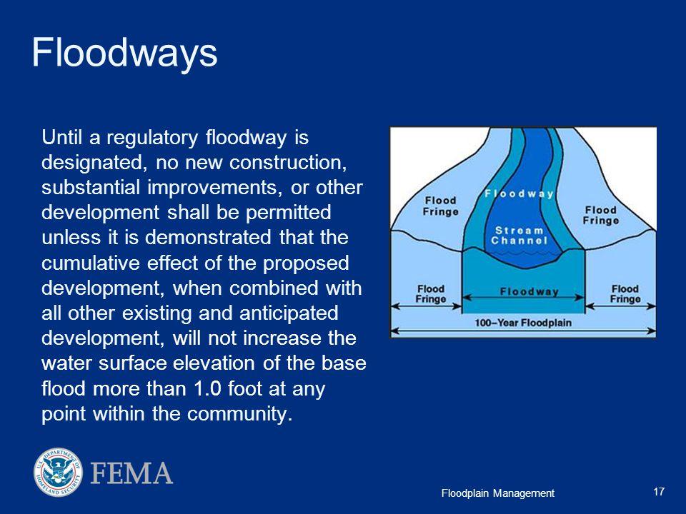 Floodways