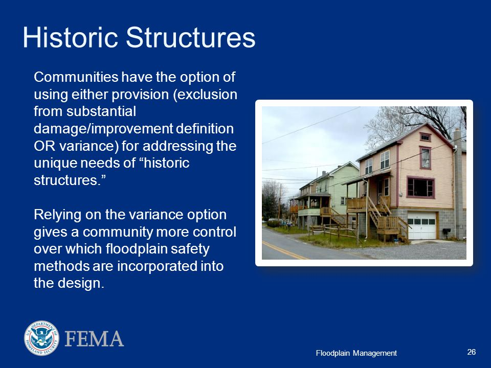 Historic Structures
