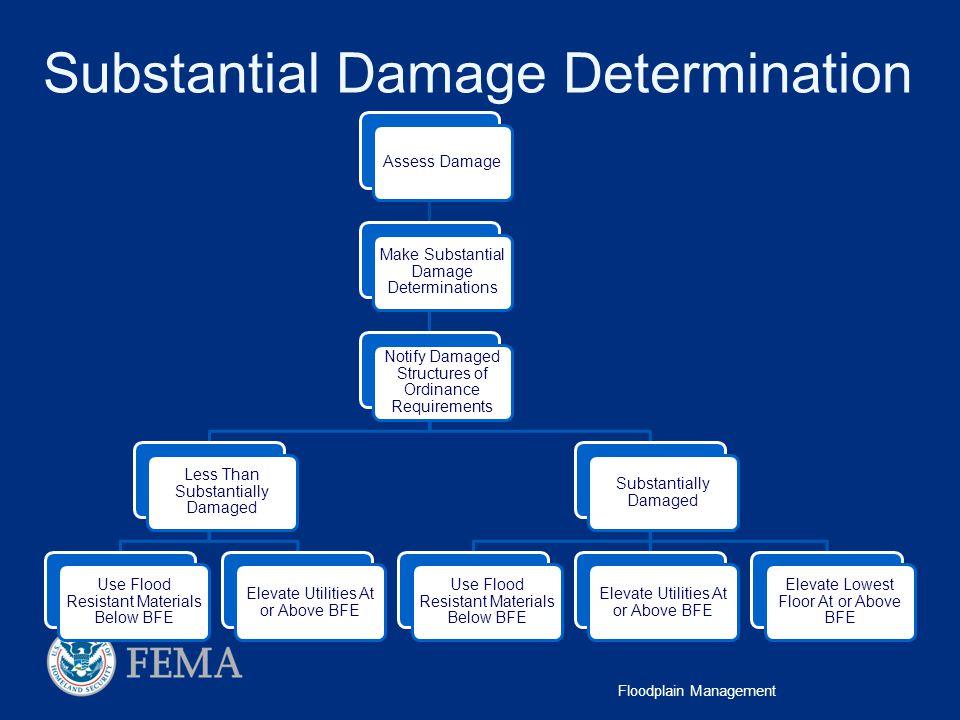 Substantial Damage Determination