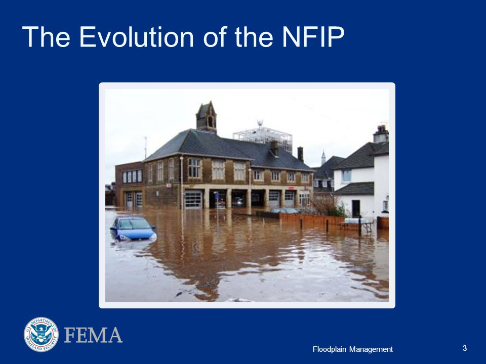 The Evolution of the NFIP