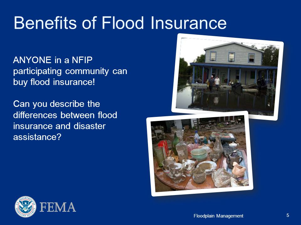 Benefits of Flood Insurance