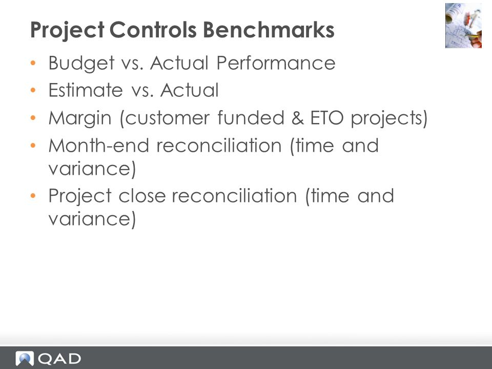 Project Controls Benchmarks