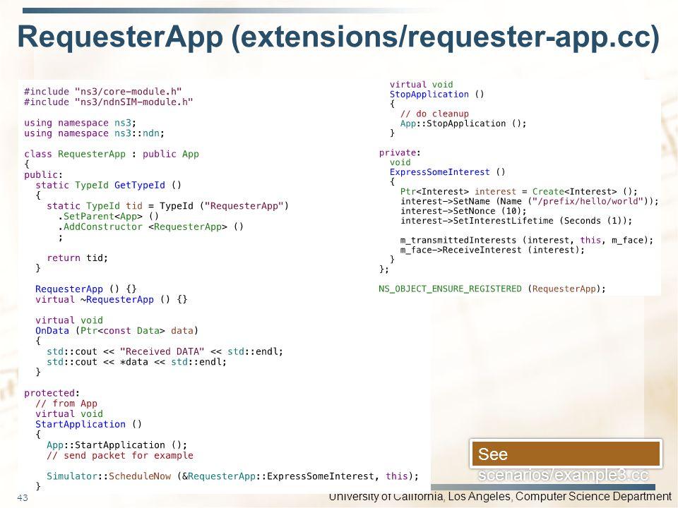 RequesterApp (extensions/requester-app.cc)