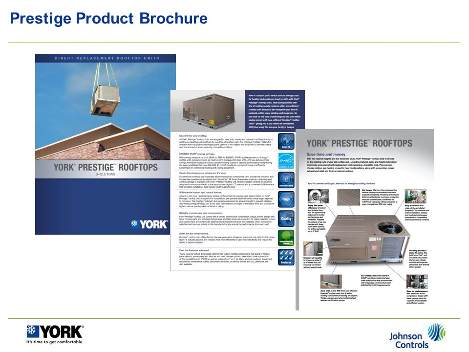 Prestige Product Brochure