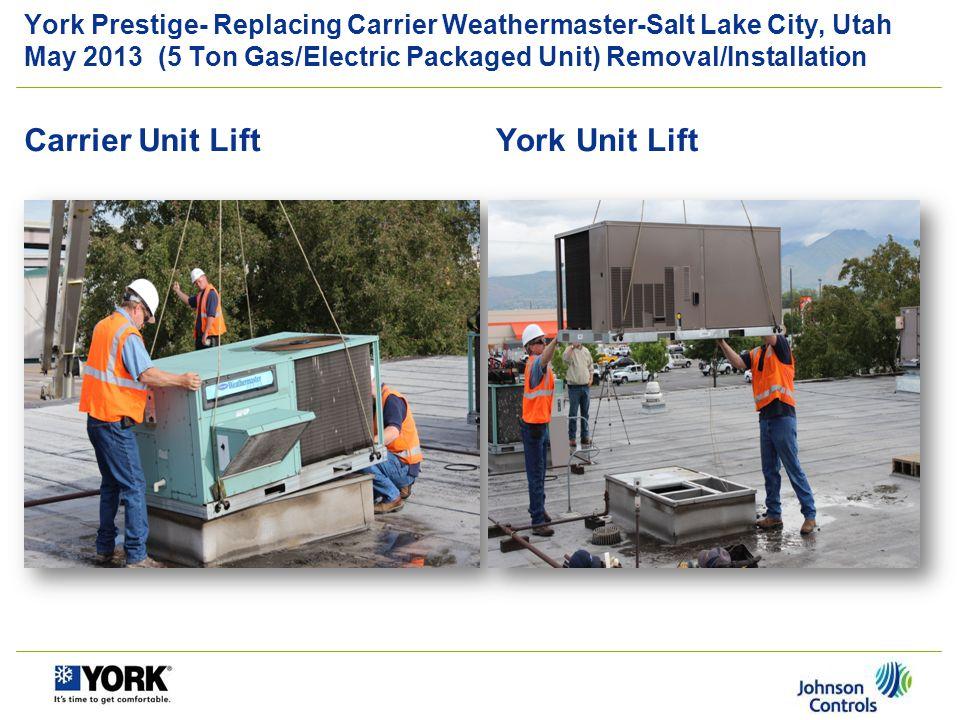 Carrier Unit Lift York Unit Lift