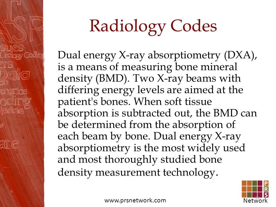 Radiology Codes