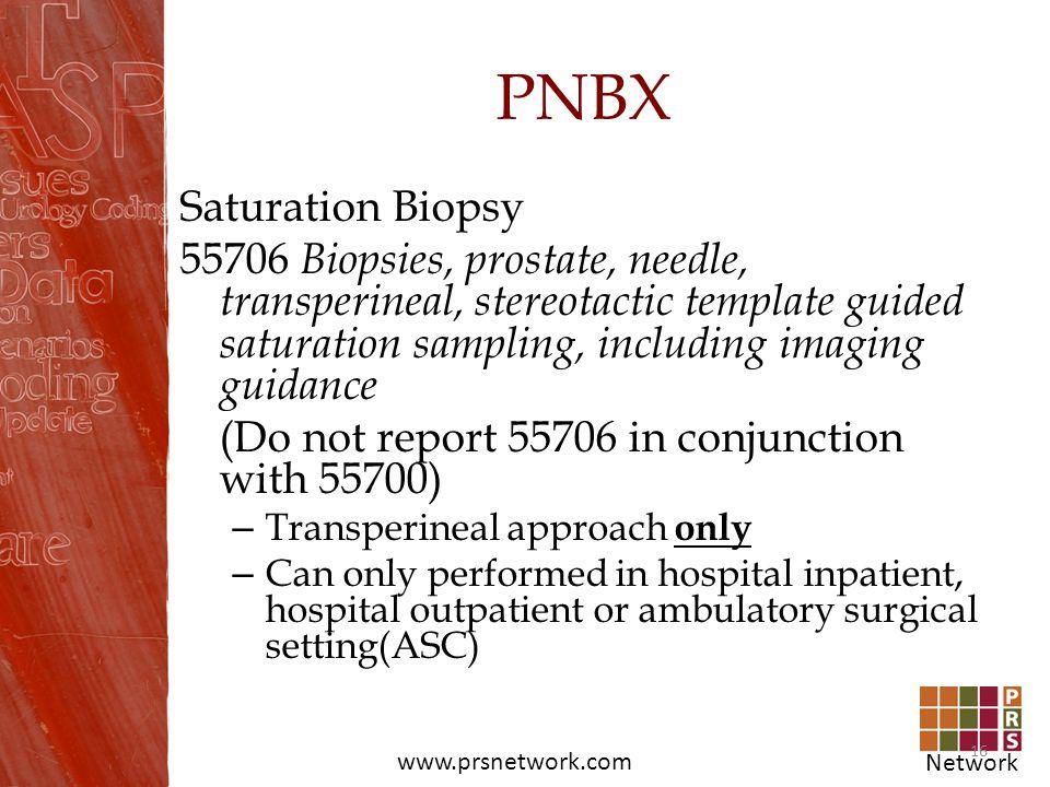 PNBX Saturation Biopsy