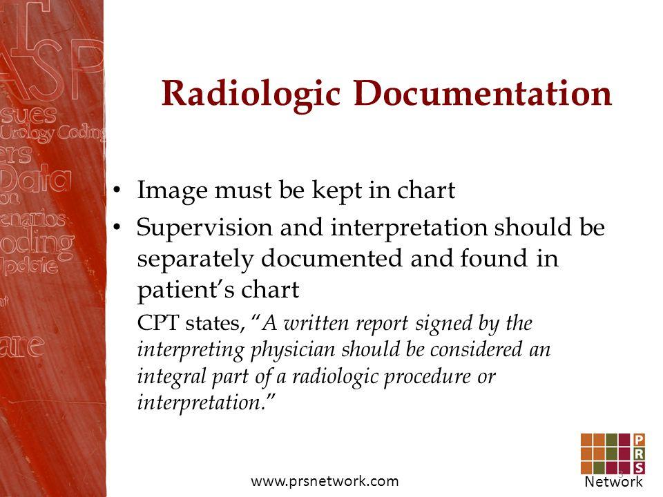 Radiologic Documentation