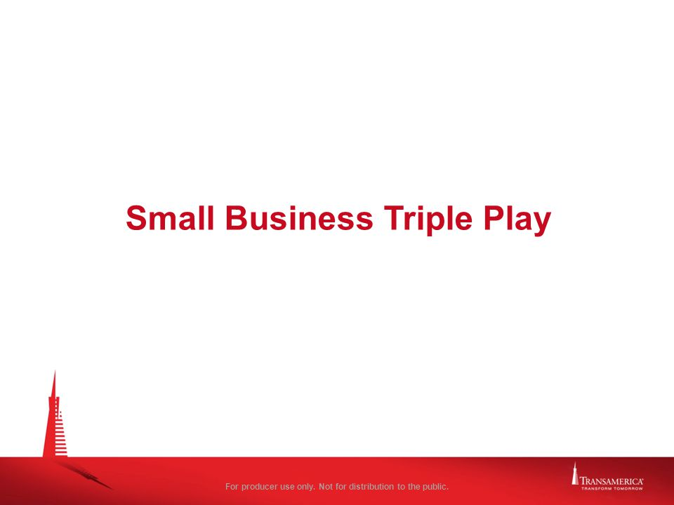 Small Business Triple Play