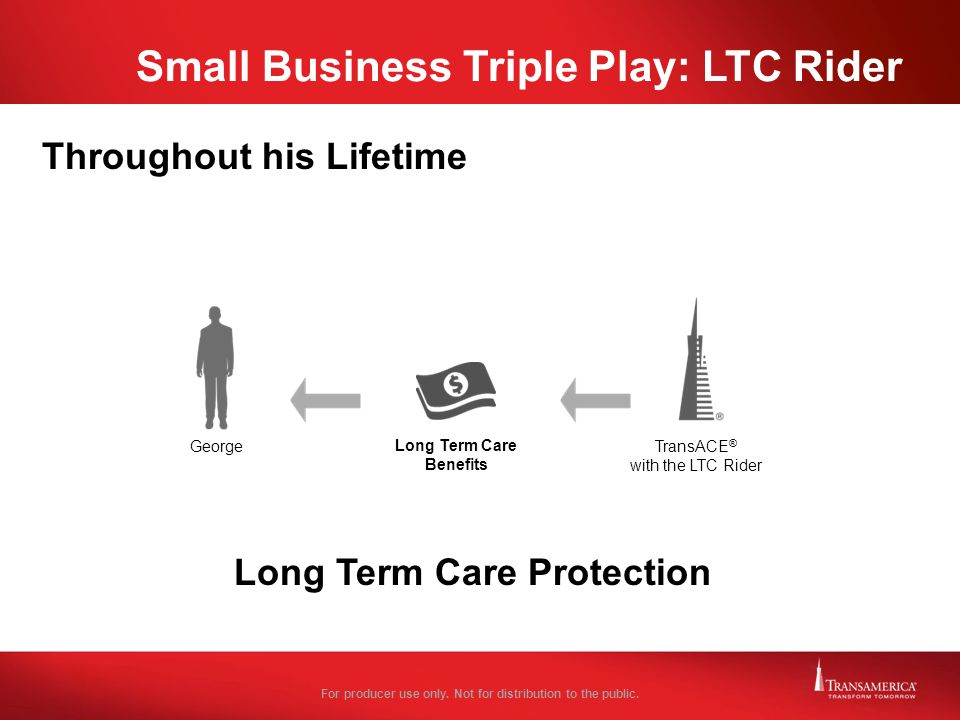 Small Business Triple Play: LTC Rider