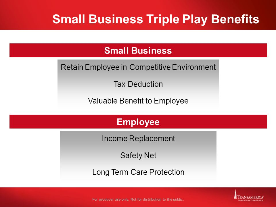Small Business Triple Play Benefits