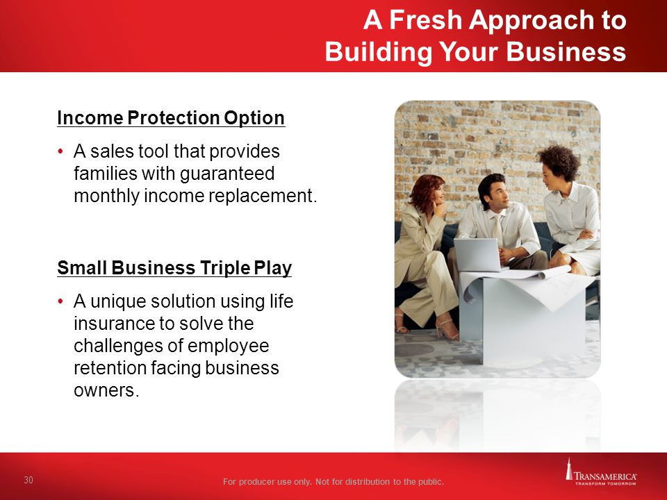 A Fresh Approach to Building Your Business
