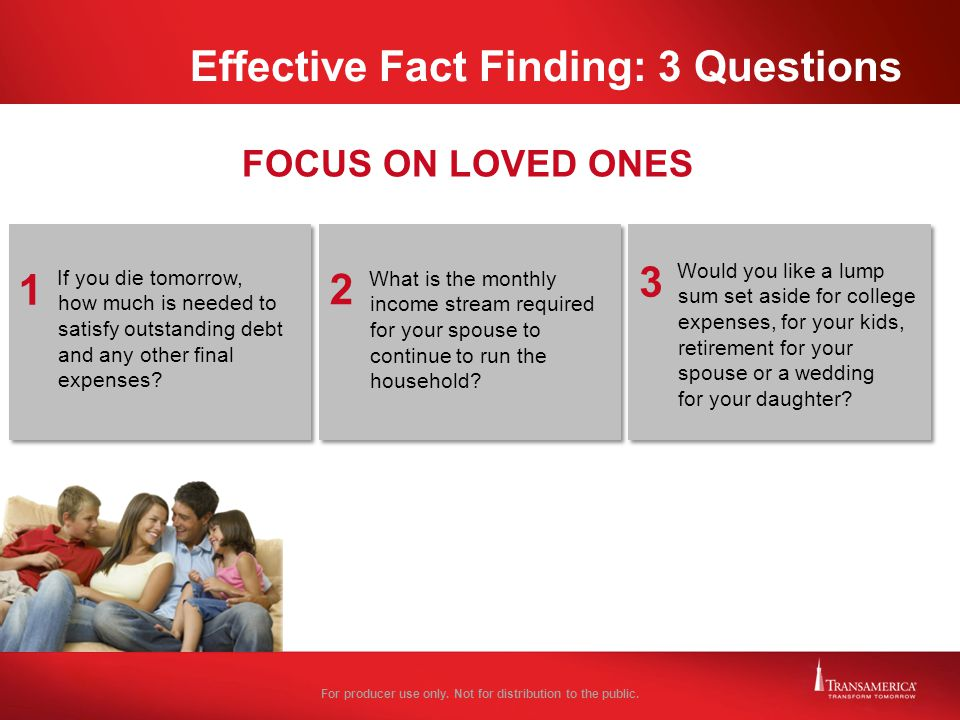 Effective Fact Finding: 3 Questions