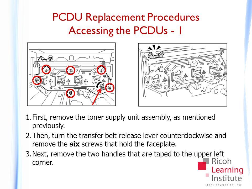 PCDU Replacement Procedures Accessing the PCDUs - 2