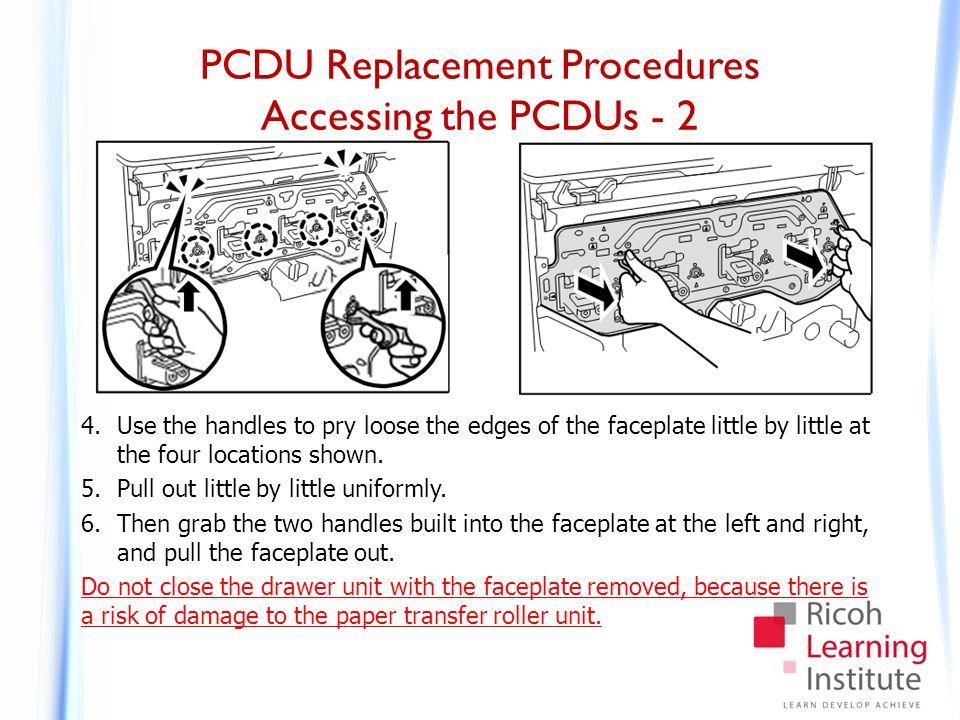 PCDU Replacement Procedures Removing a PCDU - 1