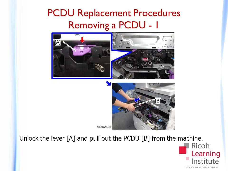 PCDU Replacement Procedures Removing a PCDU - 2