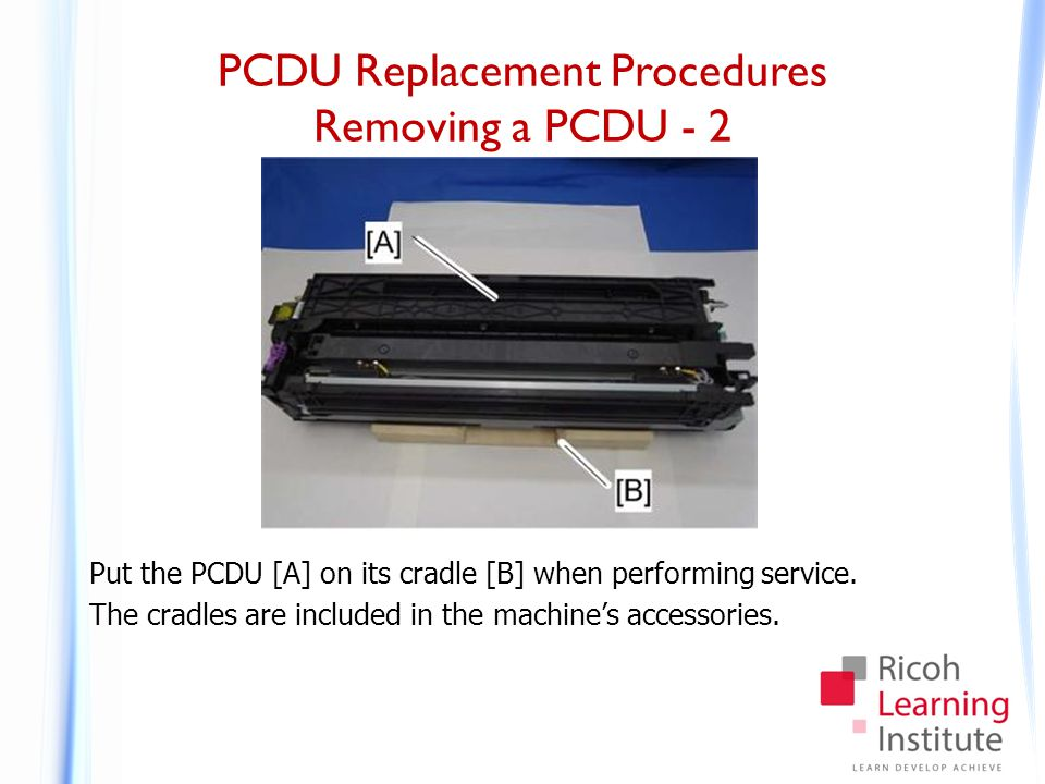 PCDU Replacement Procedures Installing a PCDU - 1
