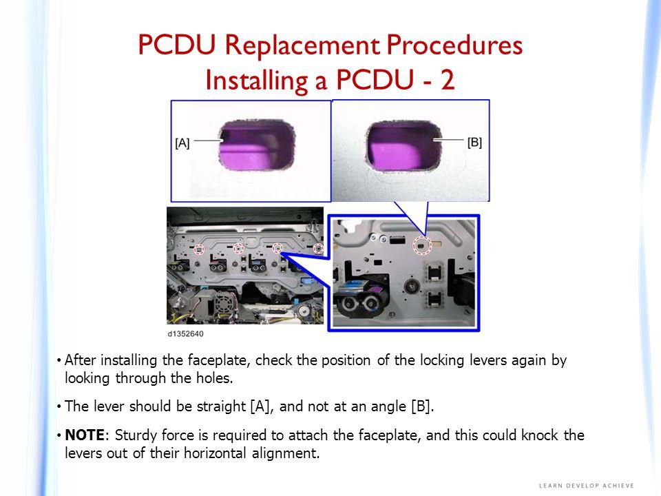 PCDU Replacement Procedures Installing a PCDU - 3